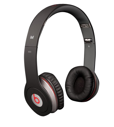 Beats Solo HD with ControlTalk by Dr Dre Headphones Black