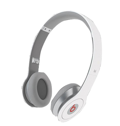 Beats Solo HD with ControlTalk by Dr Dre Headphones White