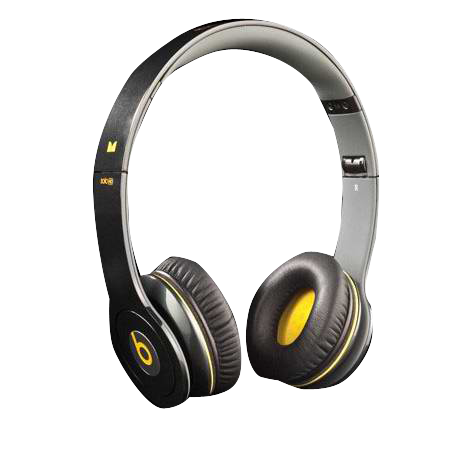 Limited Beats Solo Headphones From Monster Black/Yellow